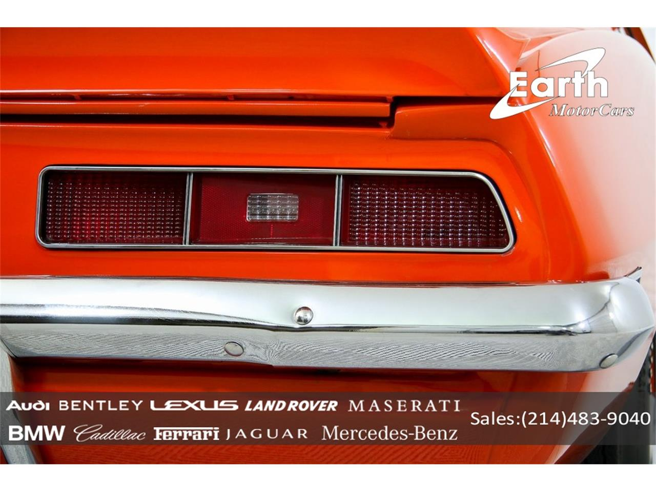 Large Picture of Classic 1969 Camaro located in Carrollton Texas - $69,995.00 Offered by Earth Motorcars - QYAH