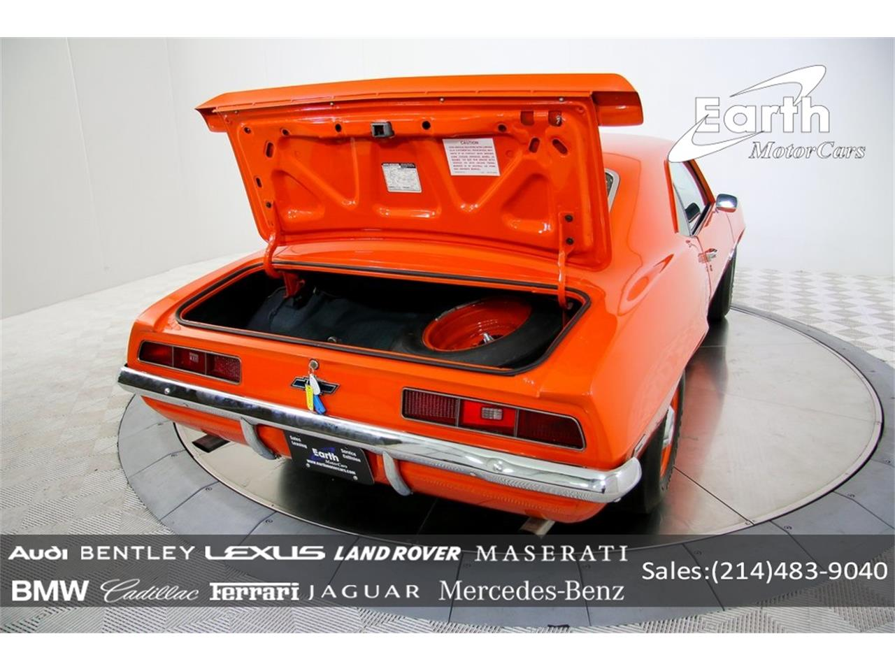 Large Picture of 1969 Chevrolet Camaro - $69,995.00 Offered by Earth Motorcars - QYAH