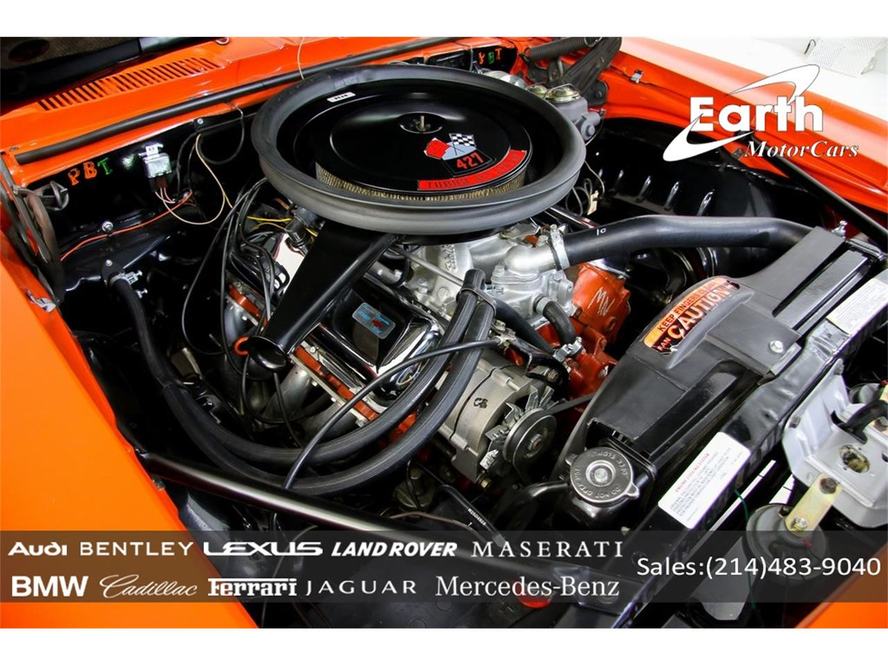 Large Picture of 1969 Camaro Offered by Earth Motorcars - QYAH