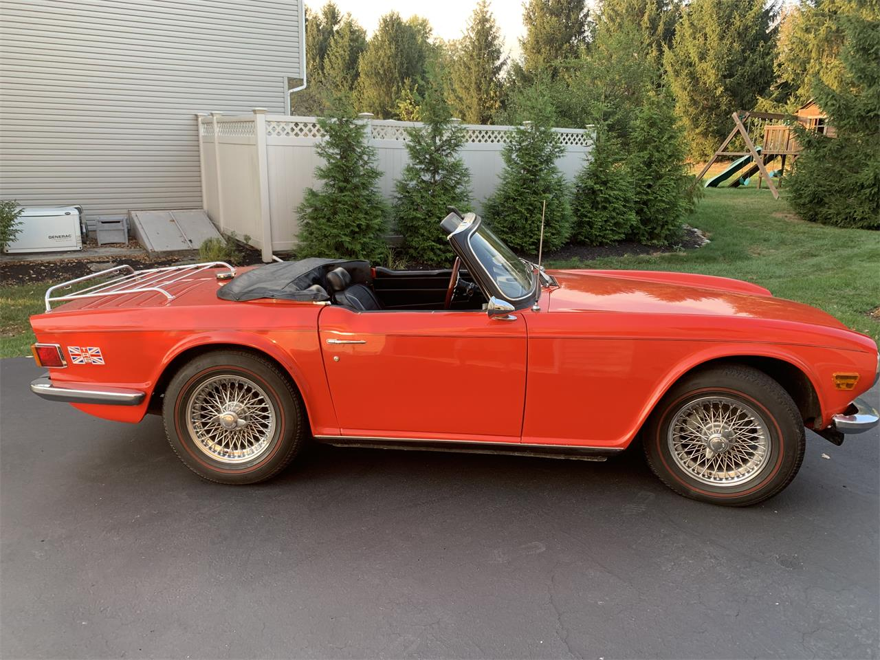 Large Picture of '73 TR6 - QYCE