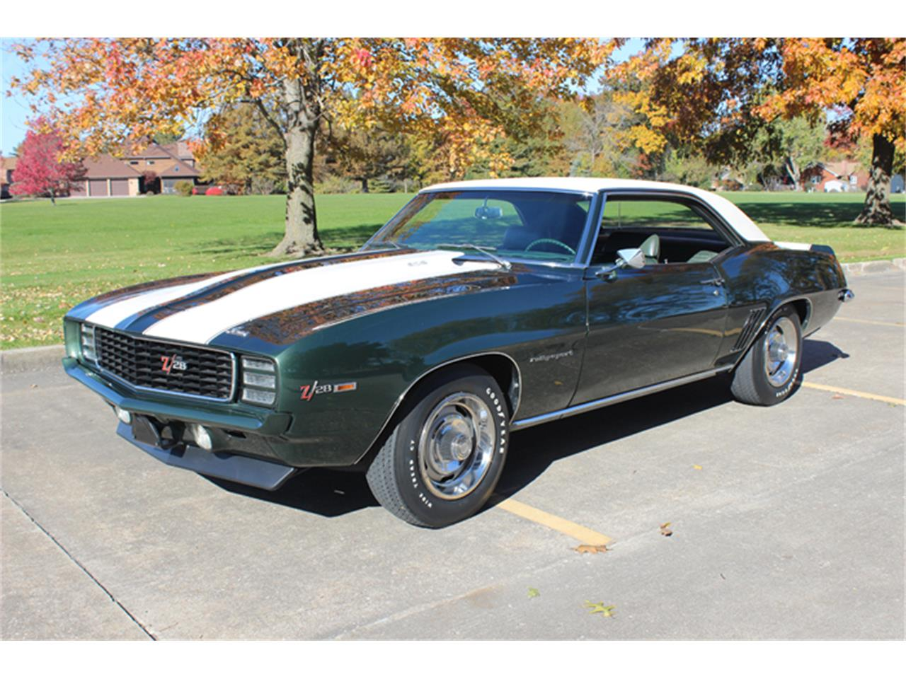Large Picture of Classic 1969 Chevrolet Camaro RS Z28 located in Burlington Iowa - $80,500.00 - QYER