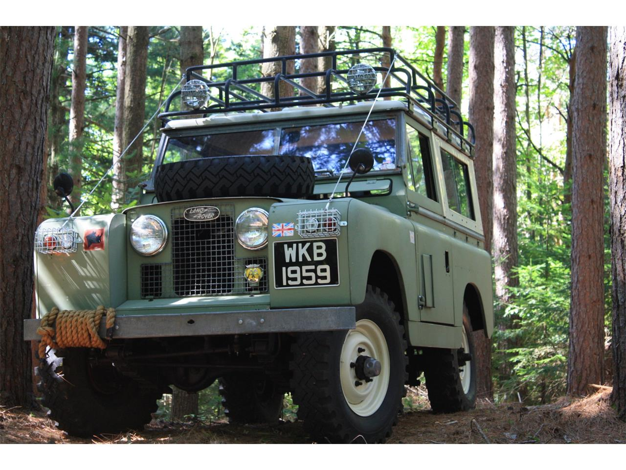 Large Picture of '59 Series II 88 - QYID