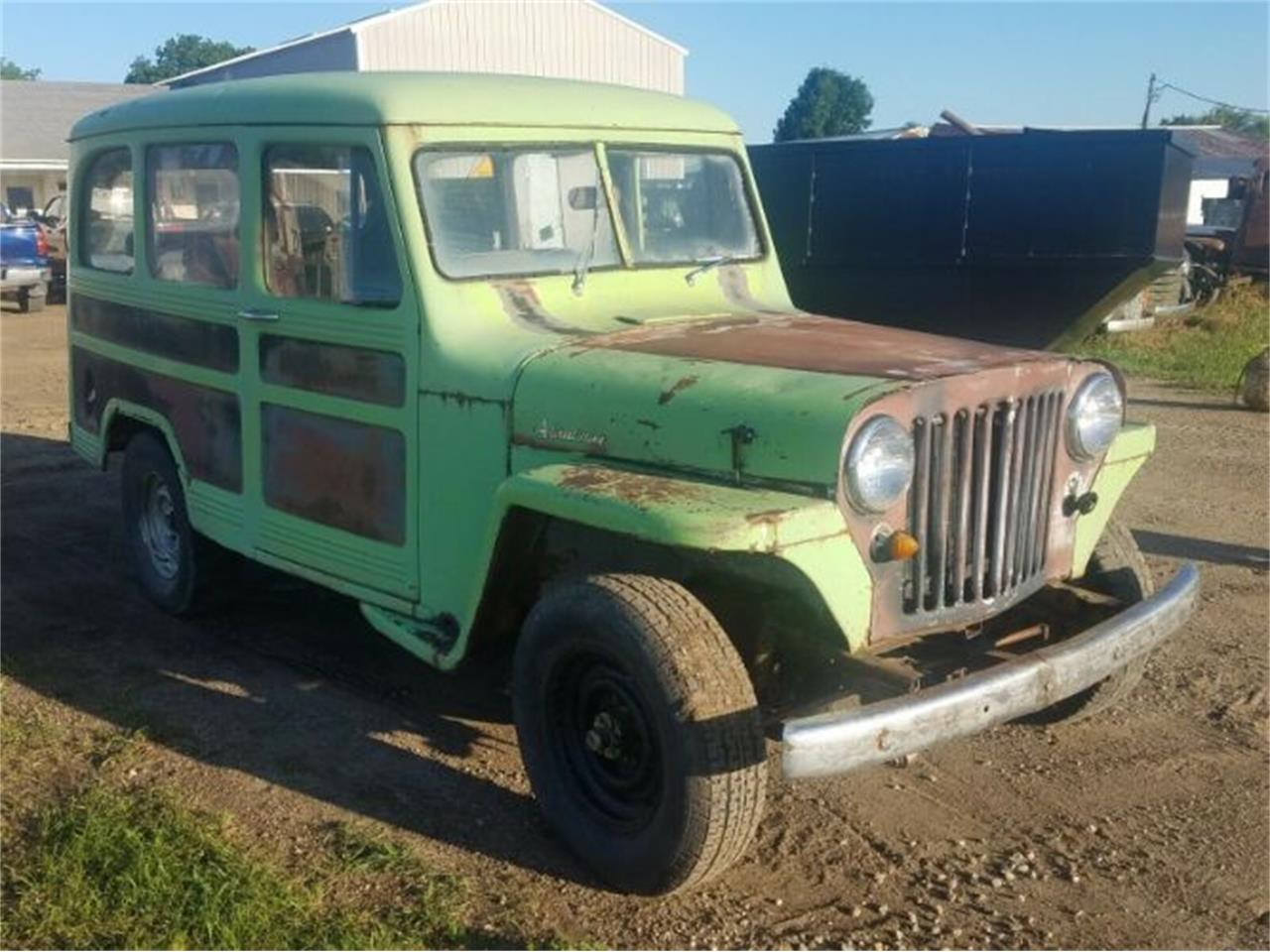 Large Picture of '51 Wagoneer - QYKU