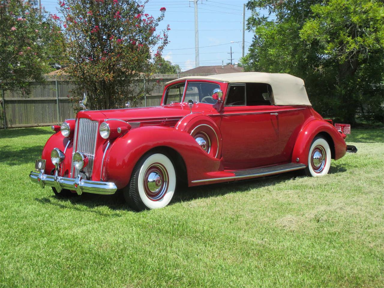 Large Picture of 1938 Packard Twelve located in Biloxi Mississippi Offered by Vicari Auction - QYMQ