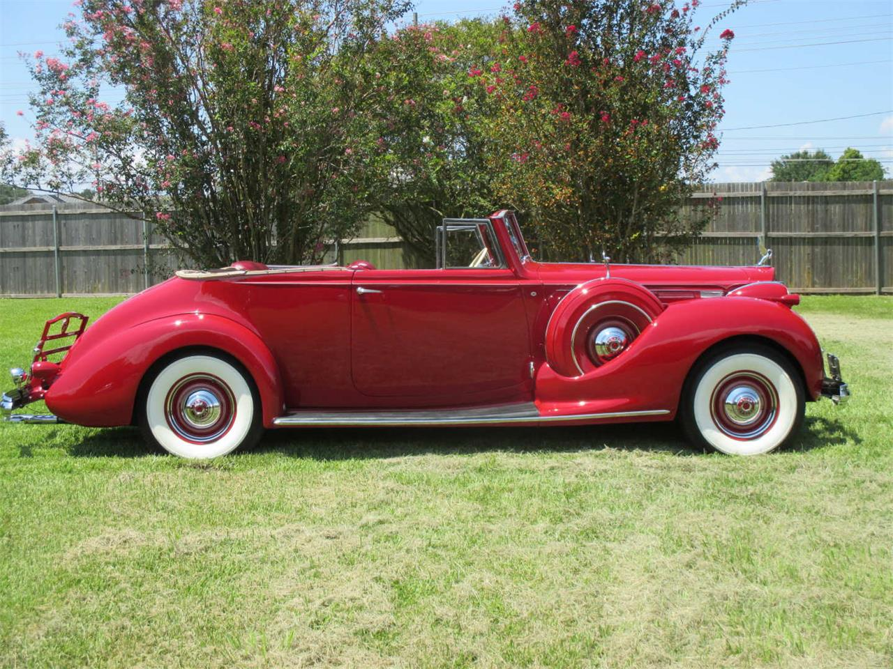 Large Picture of 1938 Packard Twelve Offered by Vicari Auction - QYMQ