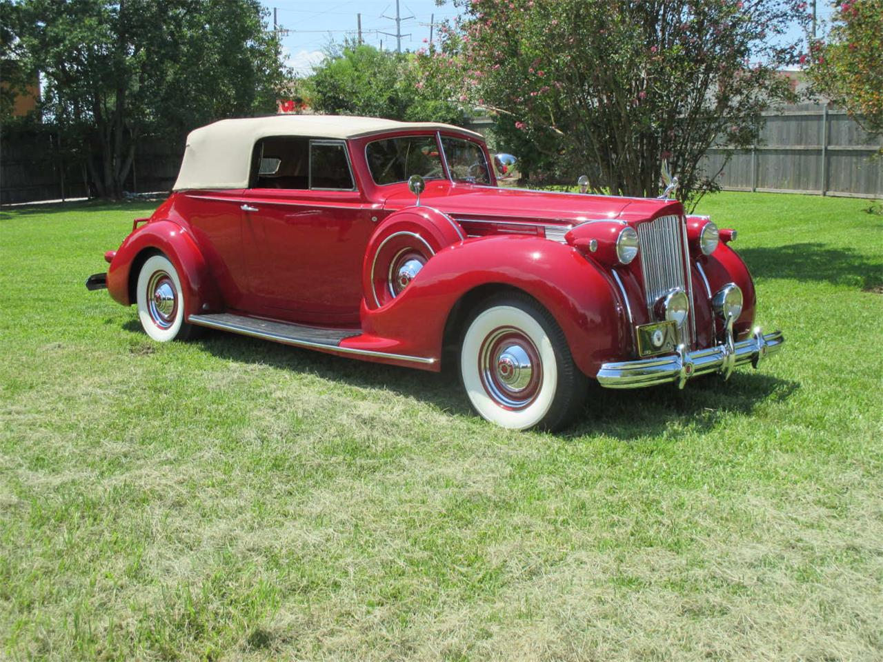 Large Picture of 1938 Packard Twelve located in Mississippi Auction Vehicle Offered by Vicari Auction - QYMQ