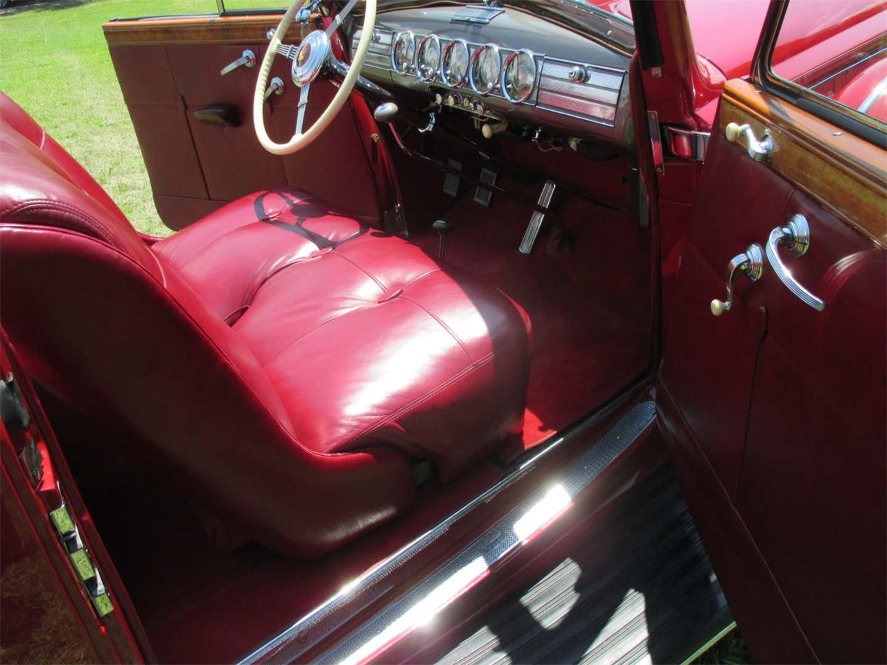 Large Picture of '38 Packard Twelve Auction Vehicle Offered by Vicari Auction - QYMQ