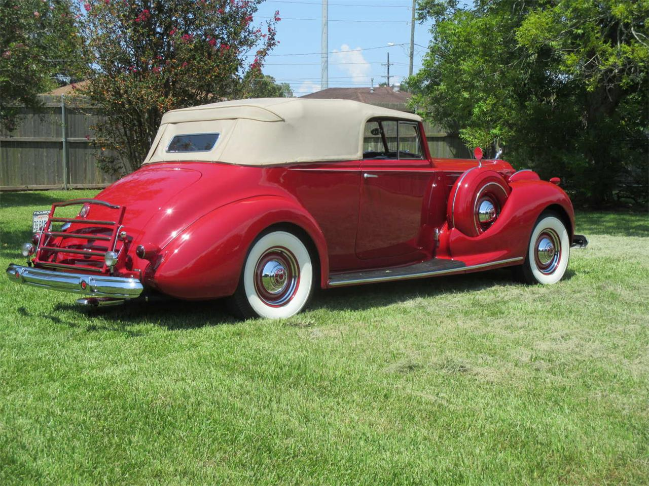 Large Picture of 1938 Packard Twelve located in Biloxi Mississippi Auction Vehicle - QYMQ
