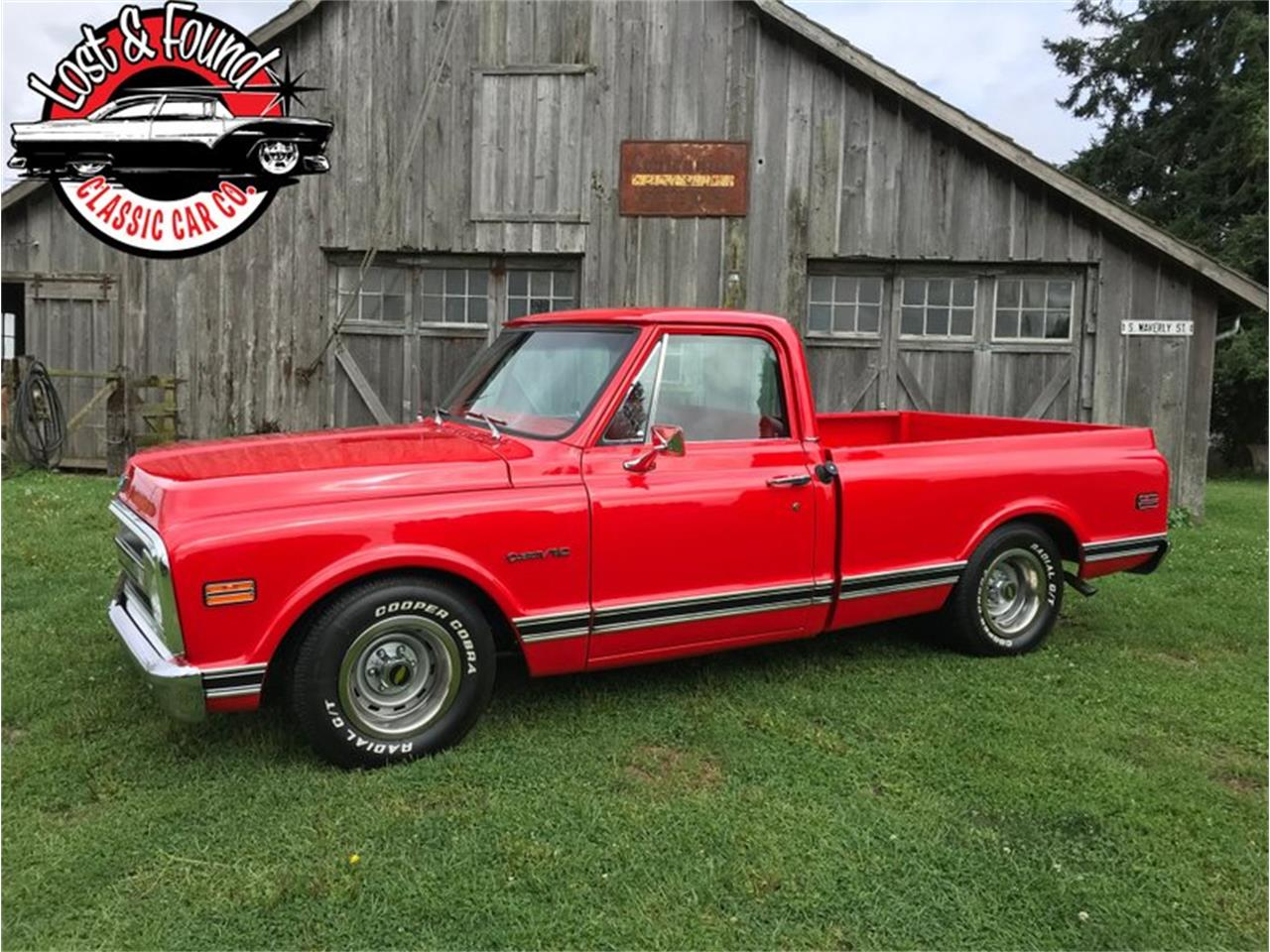 Large Picture of Classic 1969 Chevrolet C/K 10 located in Mount Vernon Washington - $39,500.00 Offered by Lost & Found Classic Car Co - QYOO