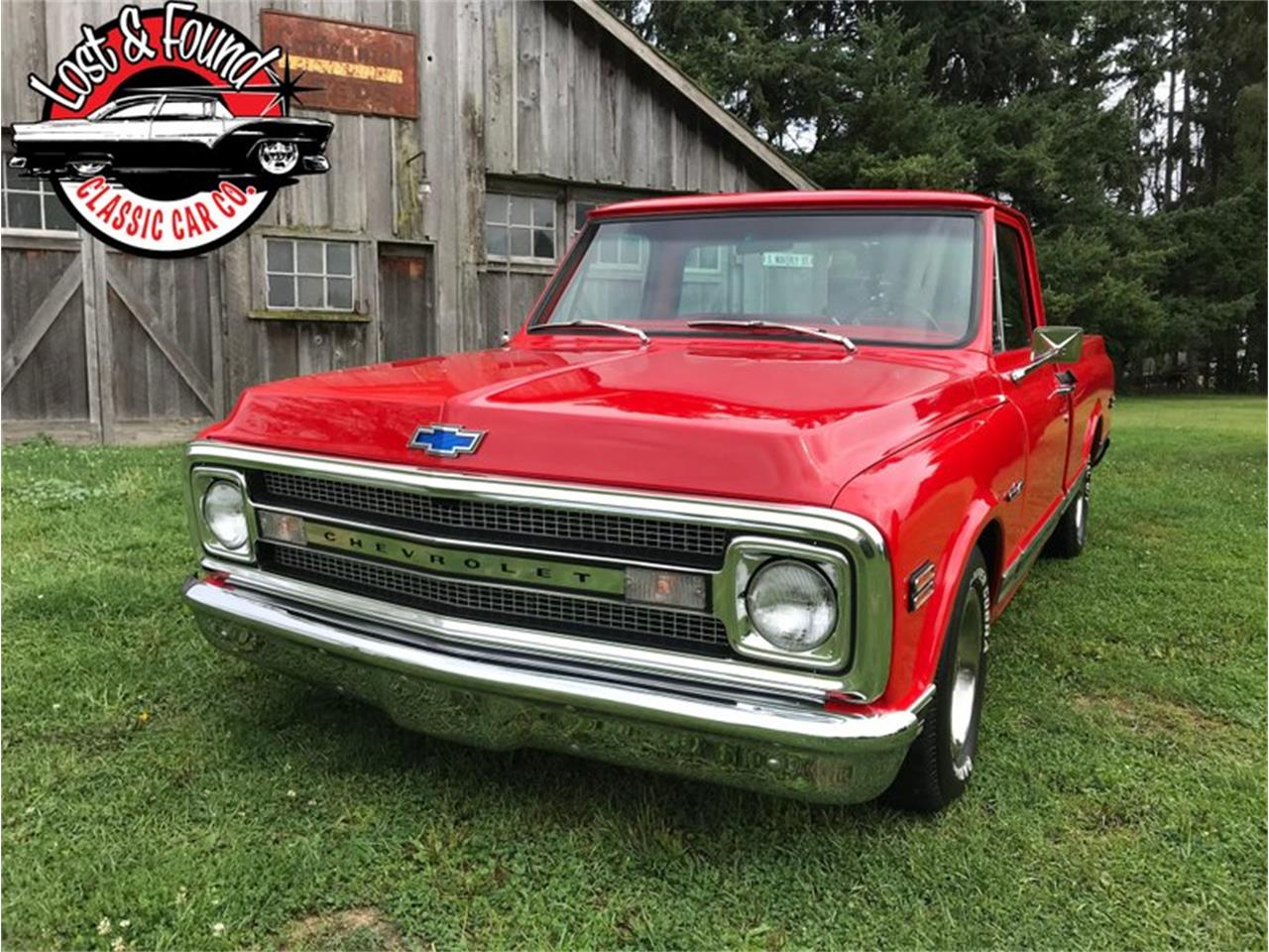 Large Picture of '69 Chevrolet C/K 10 - QYOO