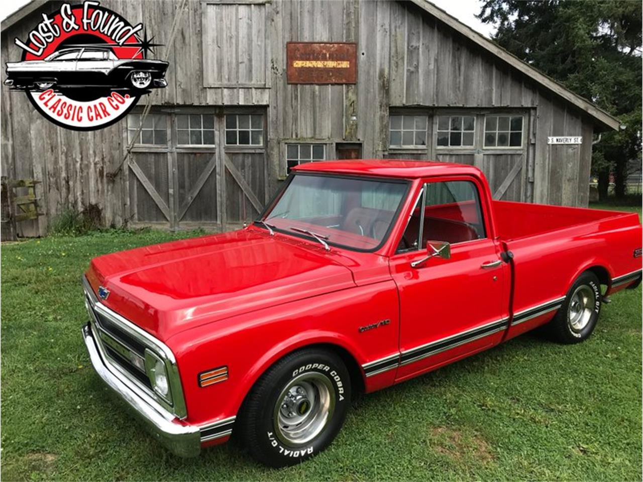 Large Picture of Classic 1969 Chevrolet C/K 10 located in Mount Vernon Washington Offered by Lost & Found Classic Car Co - QYOO