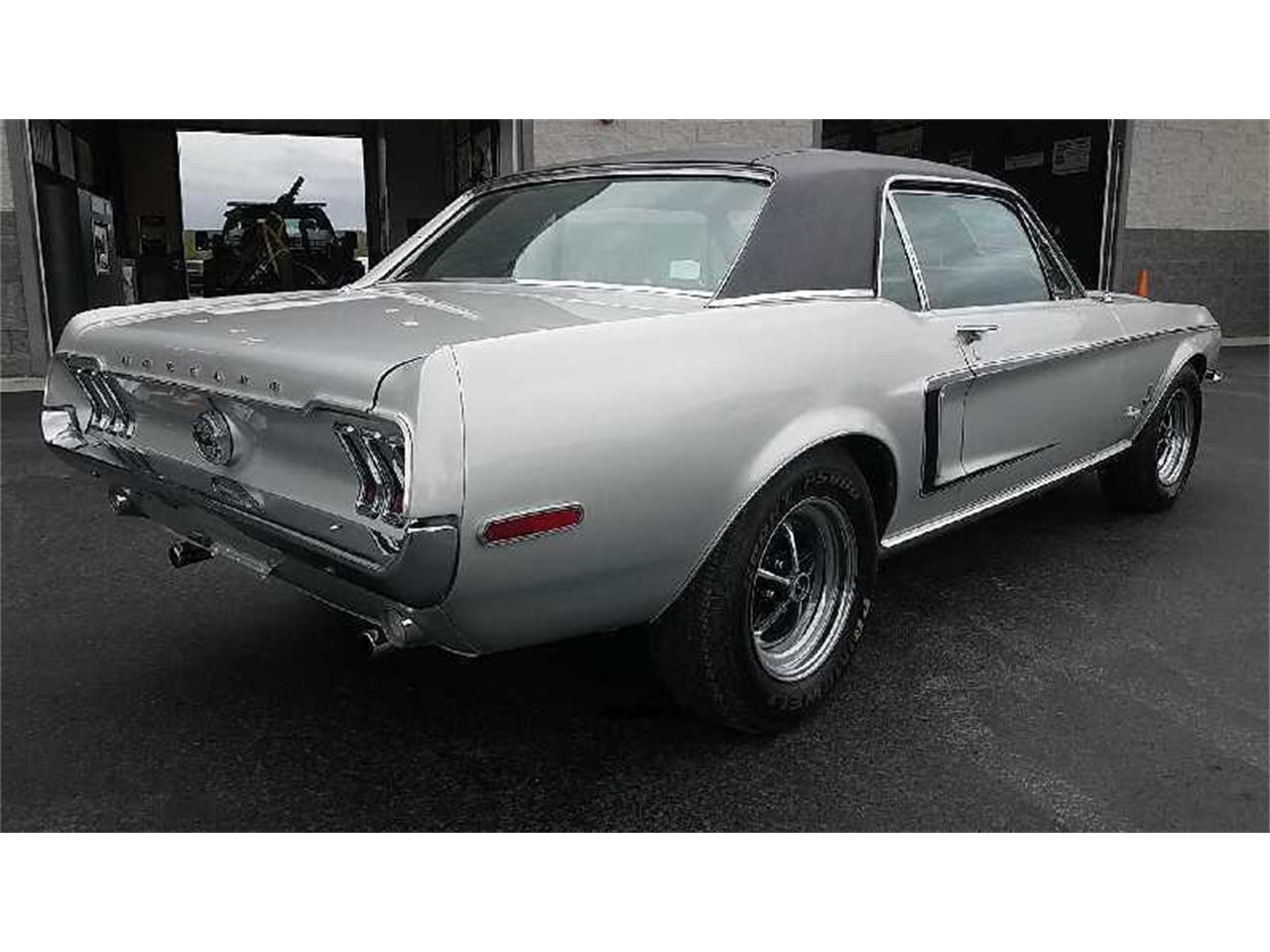 Large Picture of Classic 1968 Ford Mustang Auction Vehicle Offered by Motley's Richmond Auto Auction - QYPM