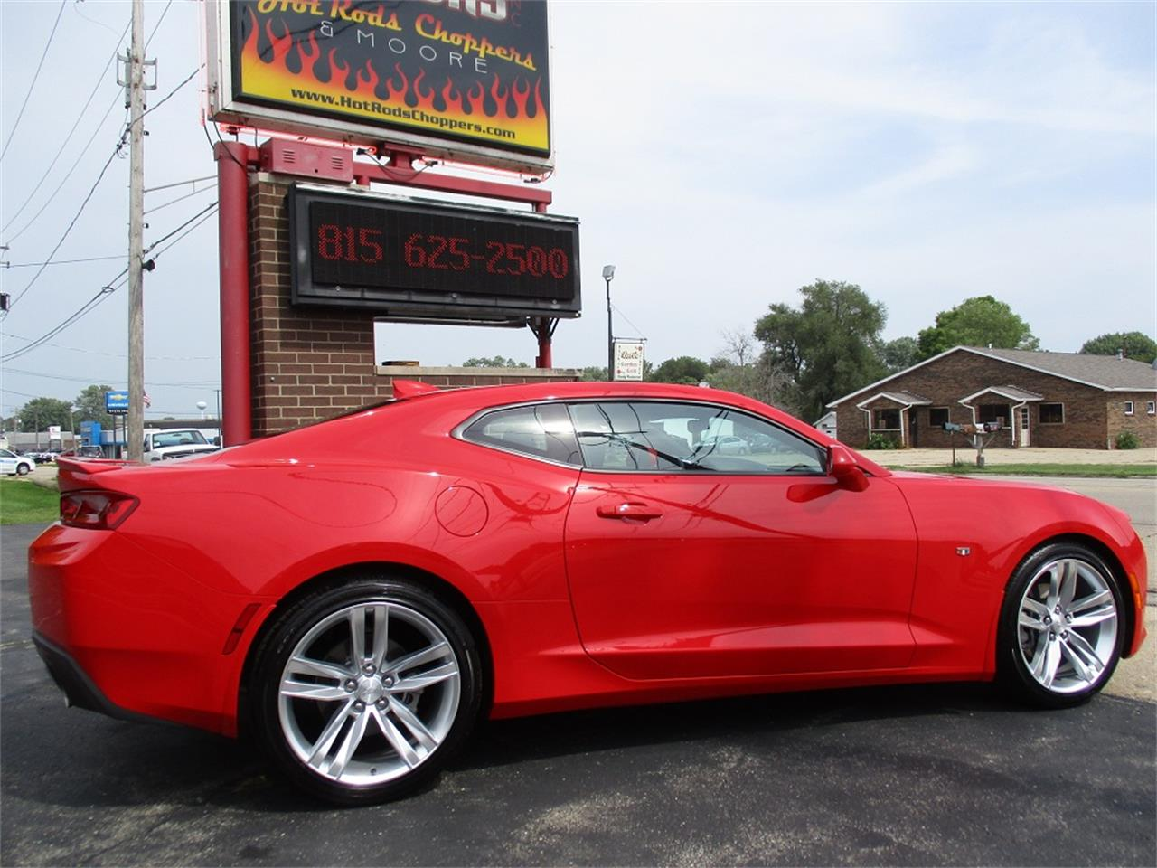 Large Picture of 2016 Chevrolet Camaro RS located in Sterling Illinois Offered by Sterling Motors Inc. - QYQM