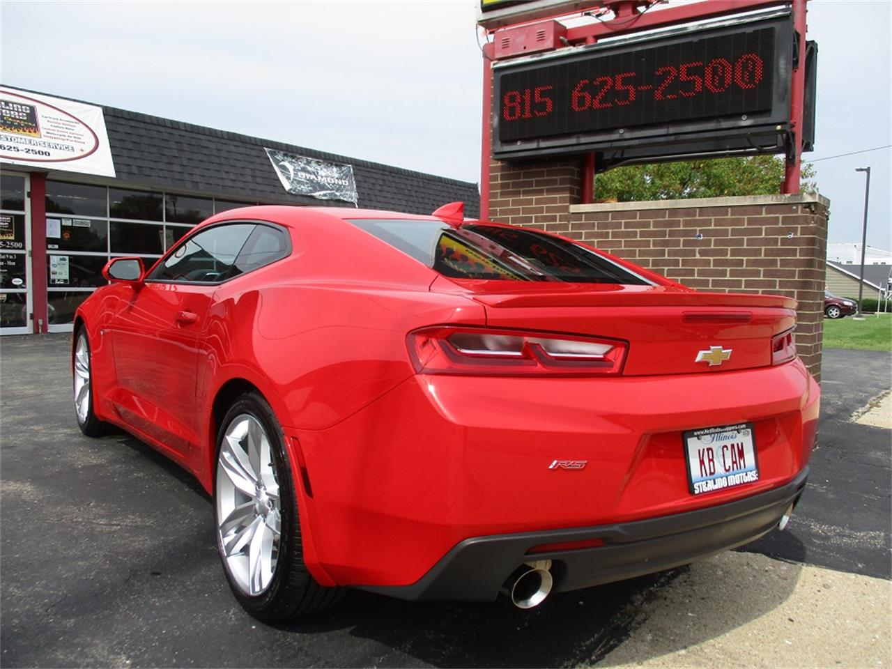 Large Picture of 2016 Chevrolet Camaro RS located in Sterling Illinois - QYQM