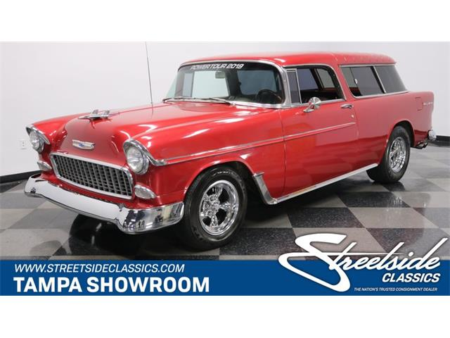 Picture of Classic '55 Chevrolet Nomad - $48,995.00 - QT4X