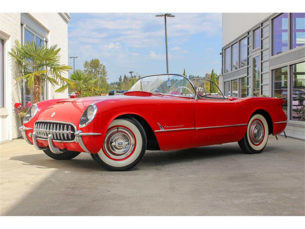 Large Picture of 1954 Corvette located in Nevada Offered by Barrett-Jackson - QYU3