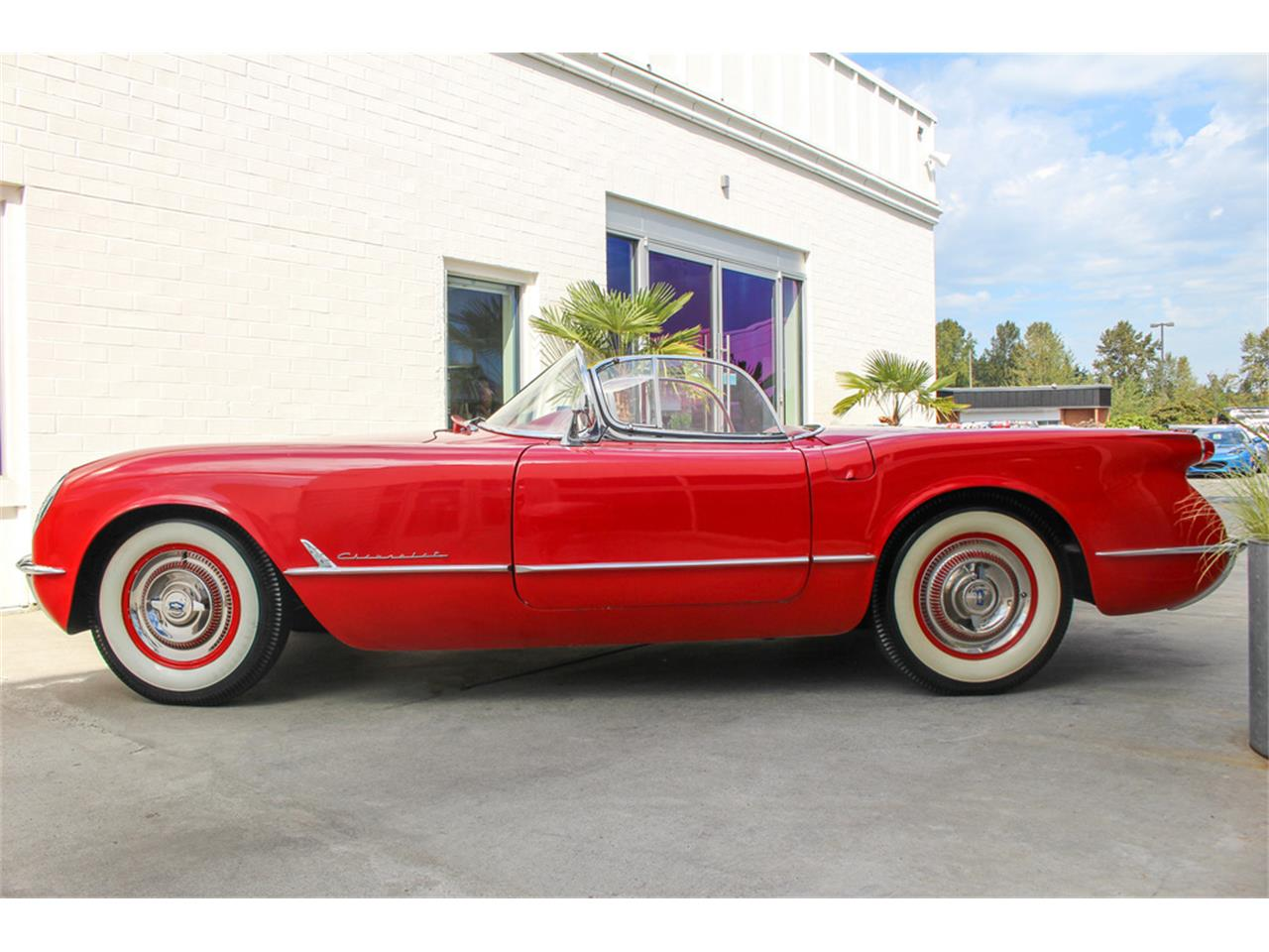 Large Picture of Classic '54 Chevrolet Corvette Offered by Barrett-Jackson - QYU3