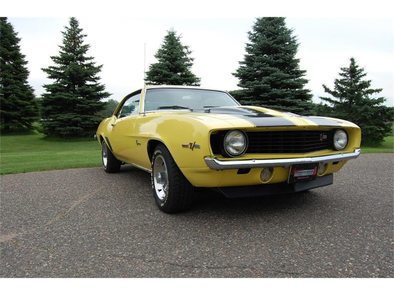 Large Picture of 1969 Chevrolet Camaro Z28 located in Minnesota - $49,995.00 - QYV7