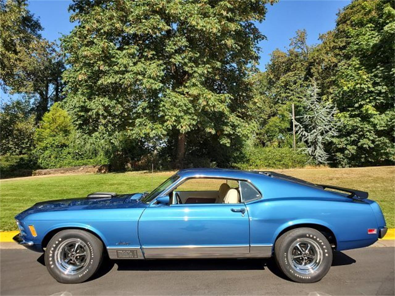 Large Picture of '70 Mustang Mach 1 - QYYT
