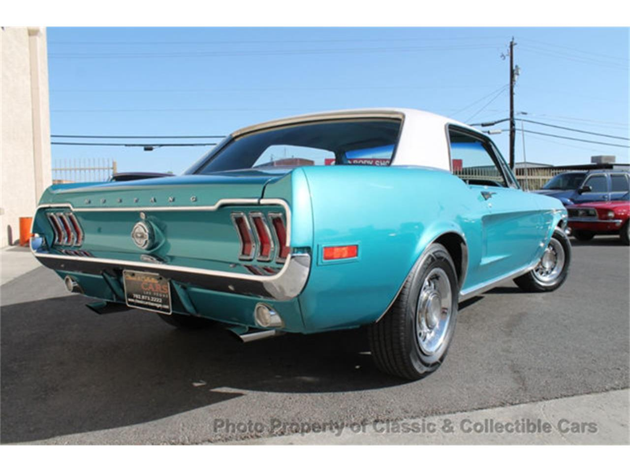 Large Picture of '68 Mustang - QYYV