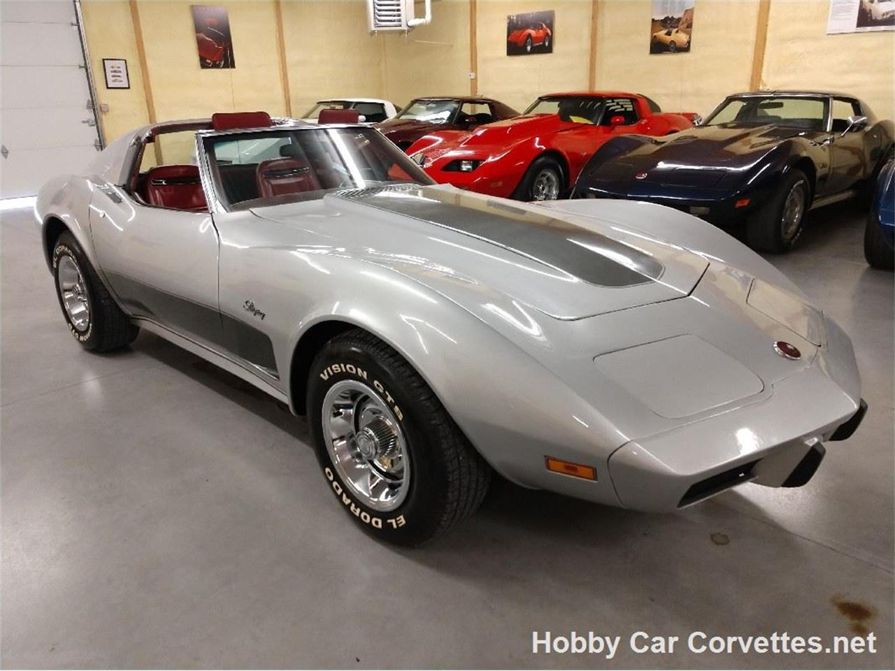 Large Picture of 1975 Chevrolet Corvette Offered by Hobby Car Corvettes - QZ33