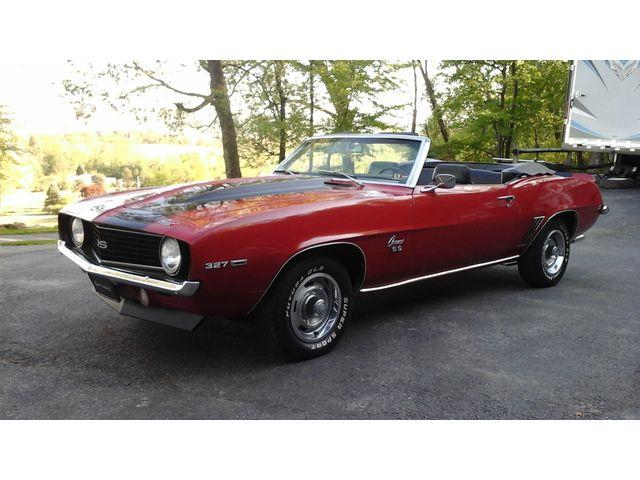 Picture of '69 Chevrolet Camaro Auction Vehicle - QZGE