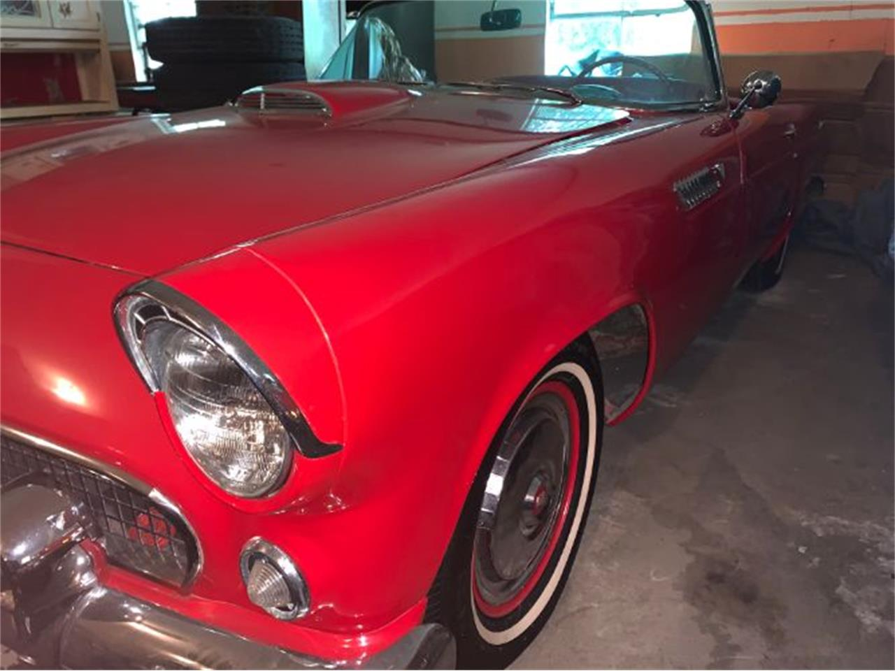 Large Picture of Classic 1955 Thunderbird located in Cadillac Michigan - $31,995.00 - QZR4