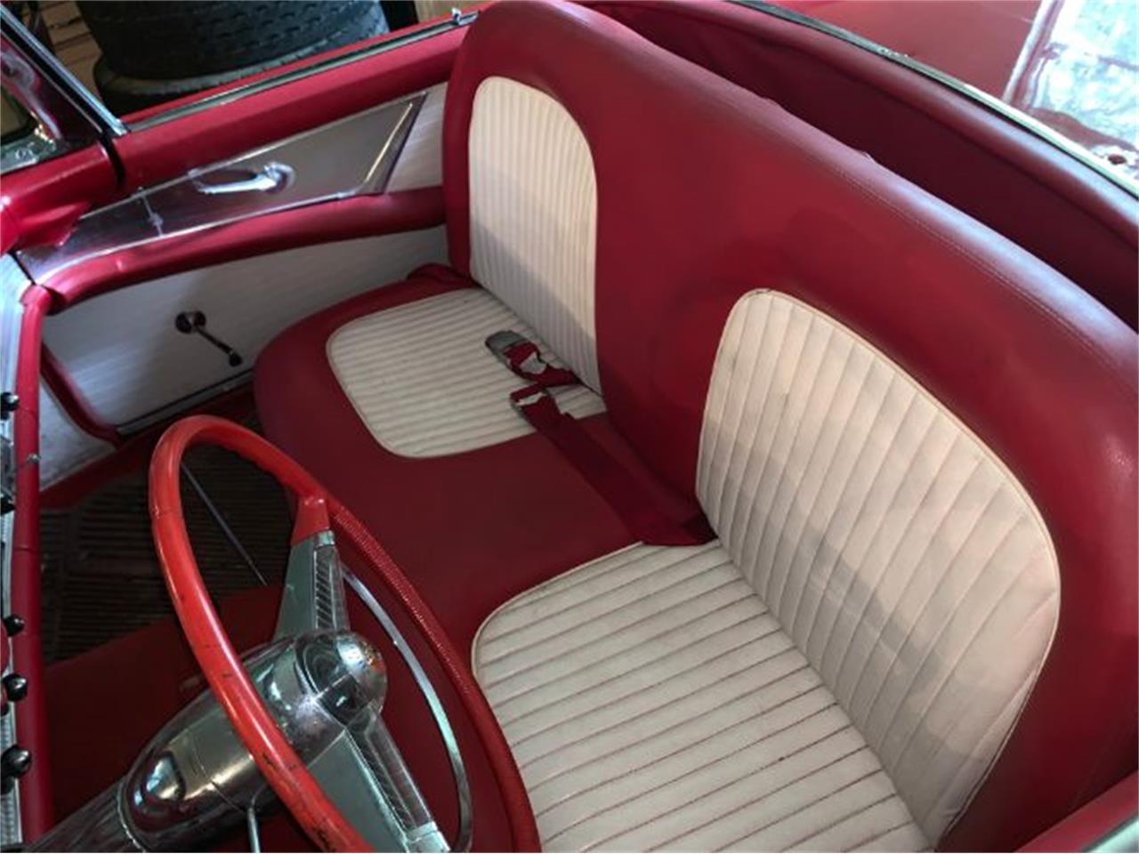 Large Picture of 1955 Ford Thunderbird located in Cadillac Michigan Offered by Classic Car Deals - QZR4