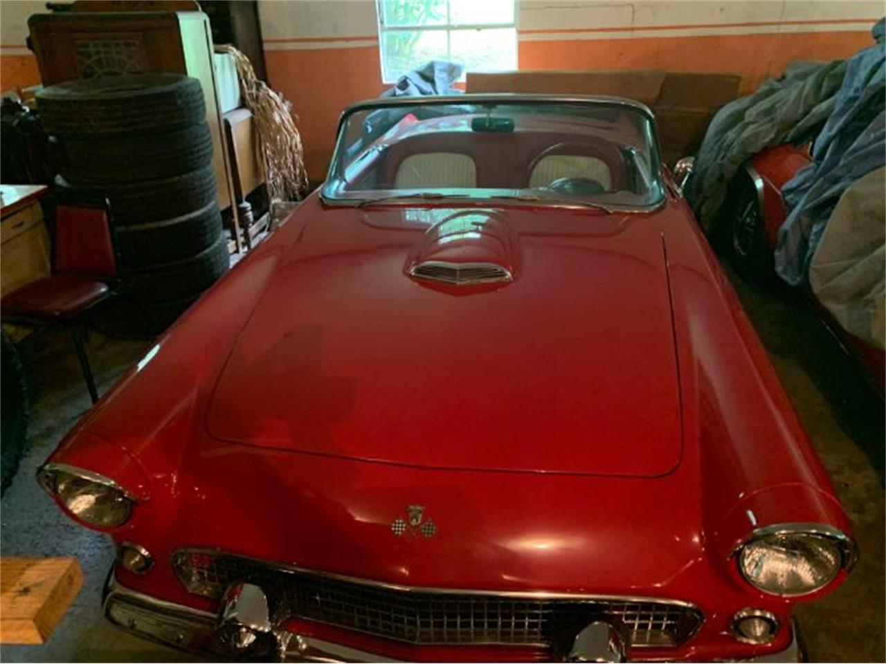Large Picture of Classic 1955 Thunderbird located in Cadillac Michigan Offered by Classic Car Deals - QZR4