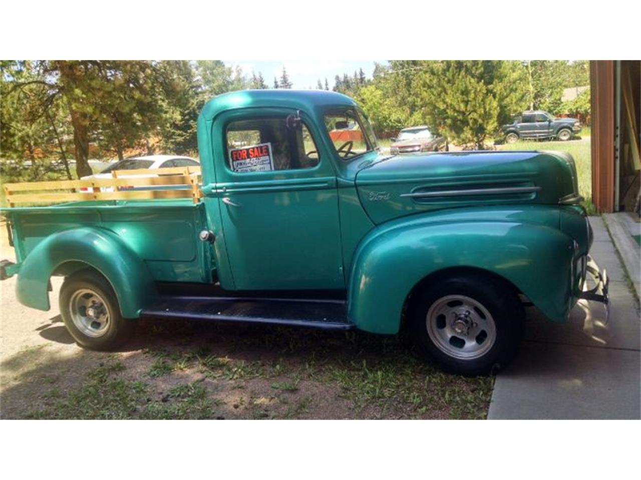 Large Picture of Classic 1947 Pickup located in Cadillac Michigan Offered by Classic Car Deals - R02F
