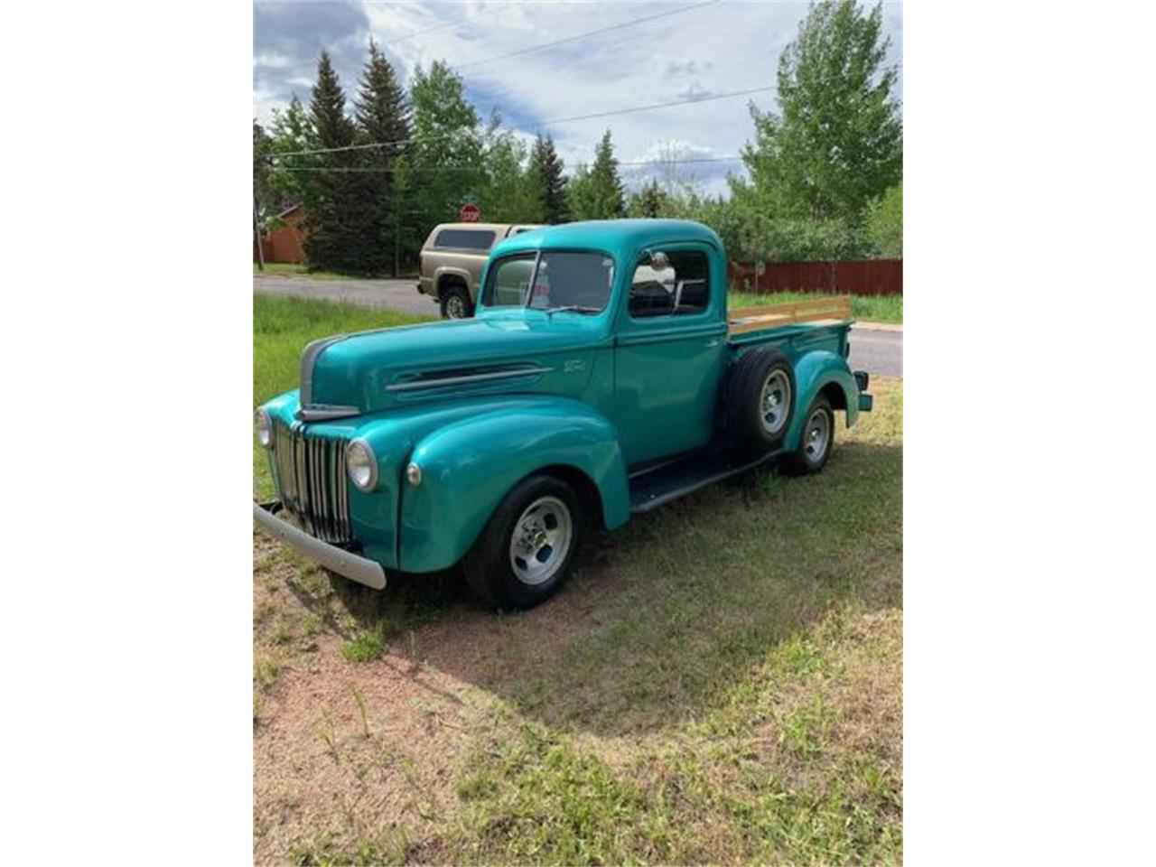 Large Picture of Classic 1947 Ford Pickup located in Cadillac Michigan Offered by Classic Car Deals - R02F