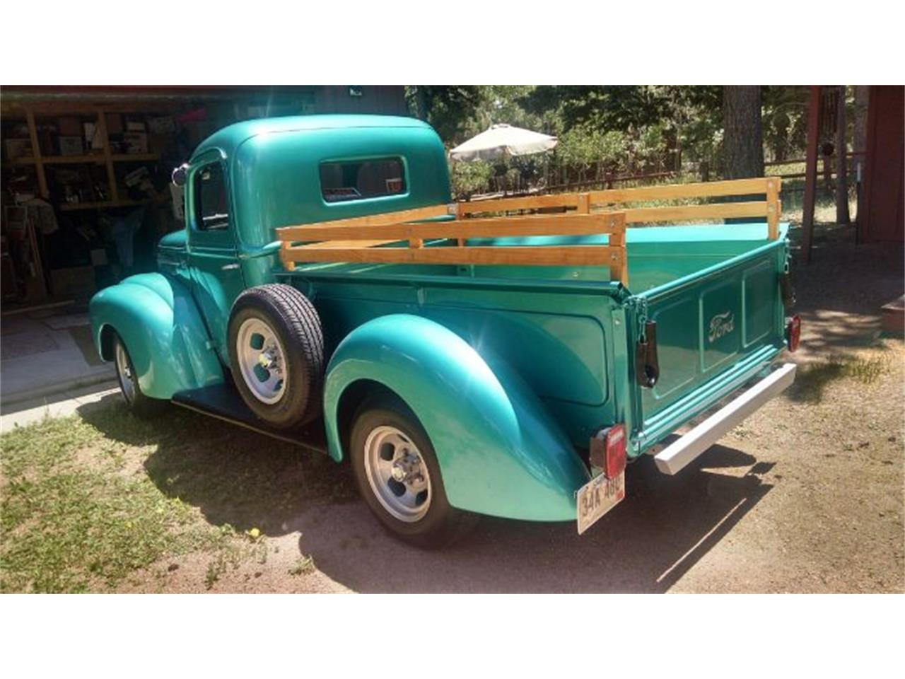 Large Picture of 1947 Ford Pickup located in Cadillac Michigan - R02F