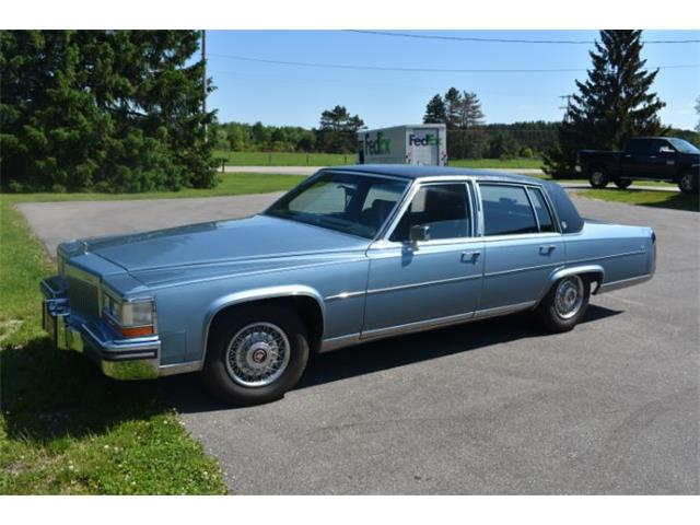 Picture of '87 Cadillac Fleetwood located in Cadillac Michigan - $8,950.00 Offered by  - R04V