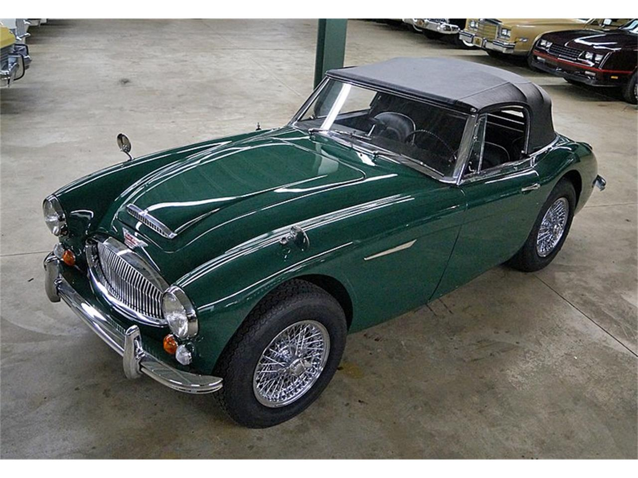 Large Picture of '67 Austin-Healey 3000 Mark III BJ8 Auction Vehicle Offered by Saratoga Auto Auction - R16P