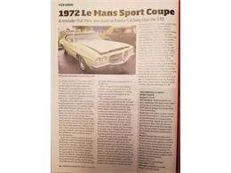 Picture of '72 LeMans - R16S