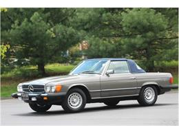 Picture of '83 Mercedes-Benz 380SL Auction Vehicle Offered by Saratoga Auto Auction - R1AI