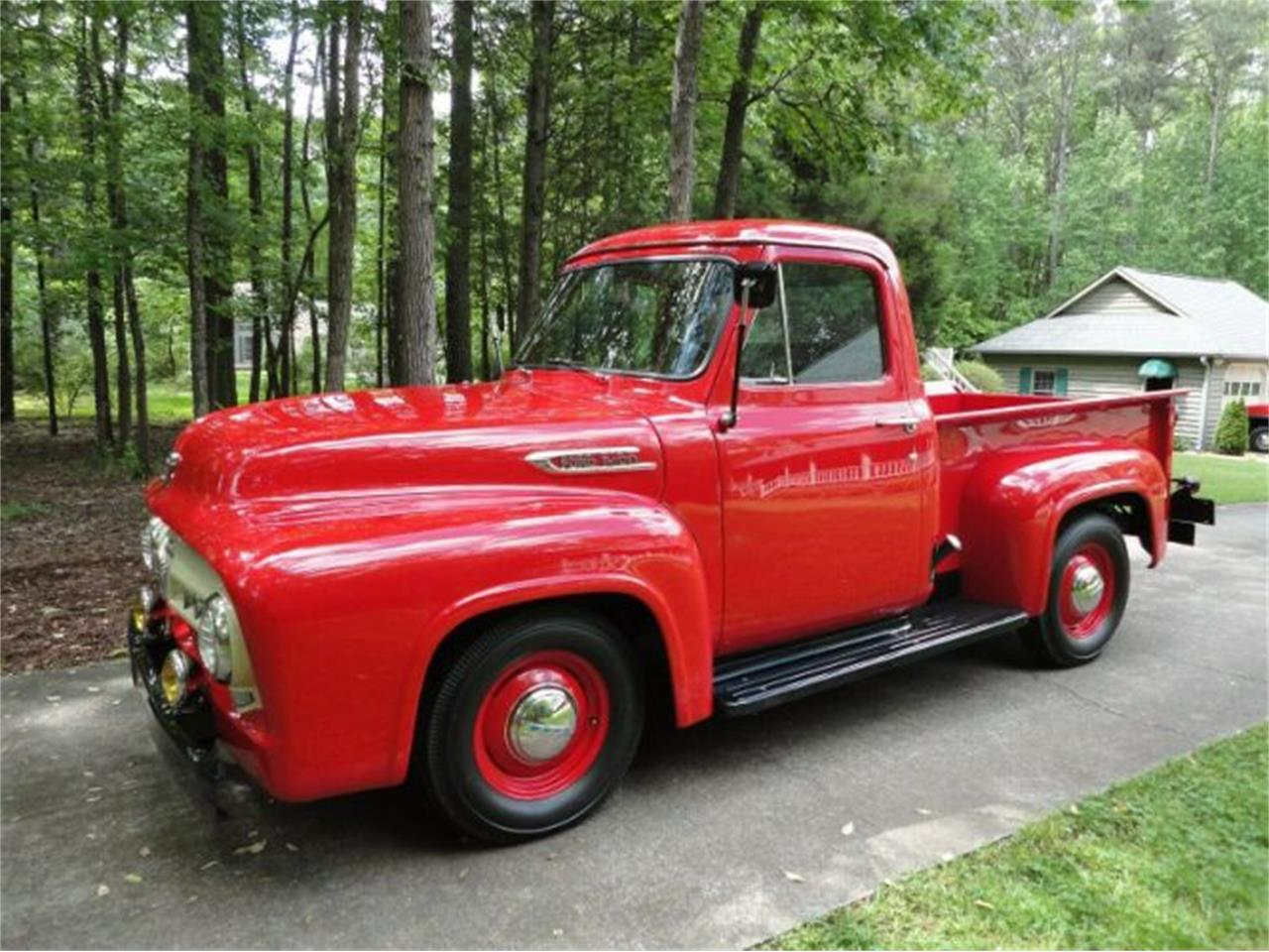 Large Picture of Classic 1953 Ford F100 located in Cadillac Michigan - R1C6