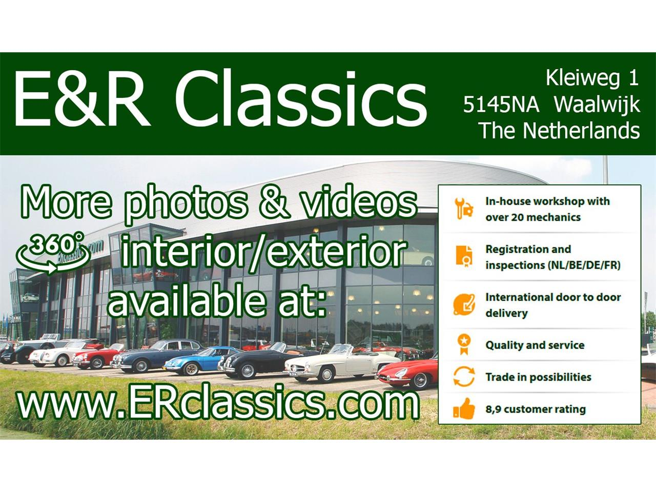Large Picture of 1960 Mercedes-Benz 220SE - $143,800.00 Offered by E & R Classics - R1DL