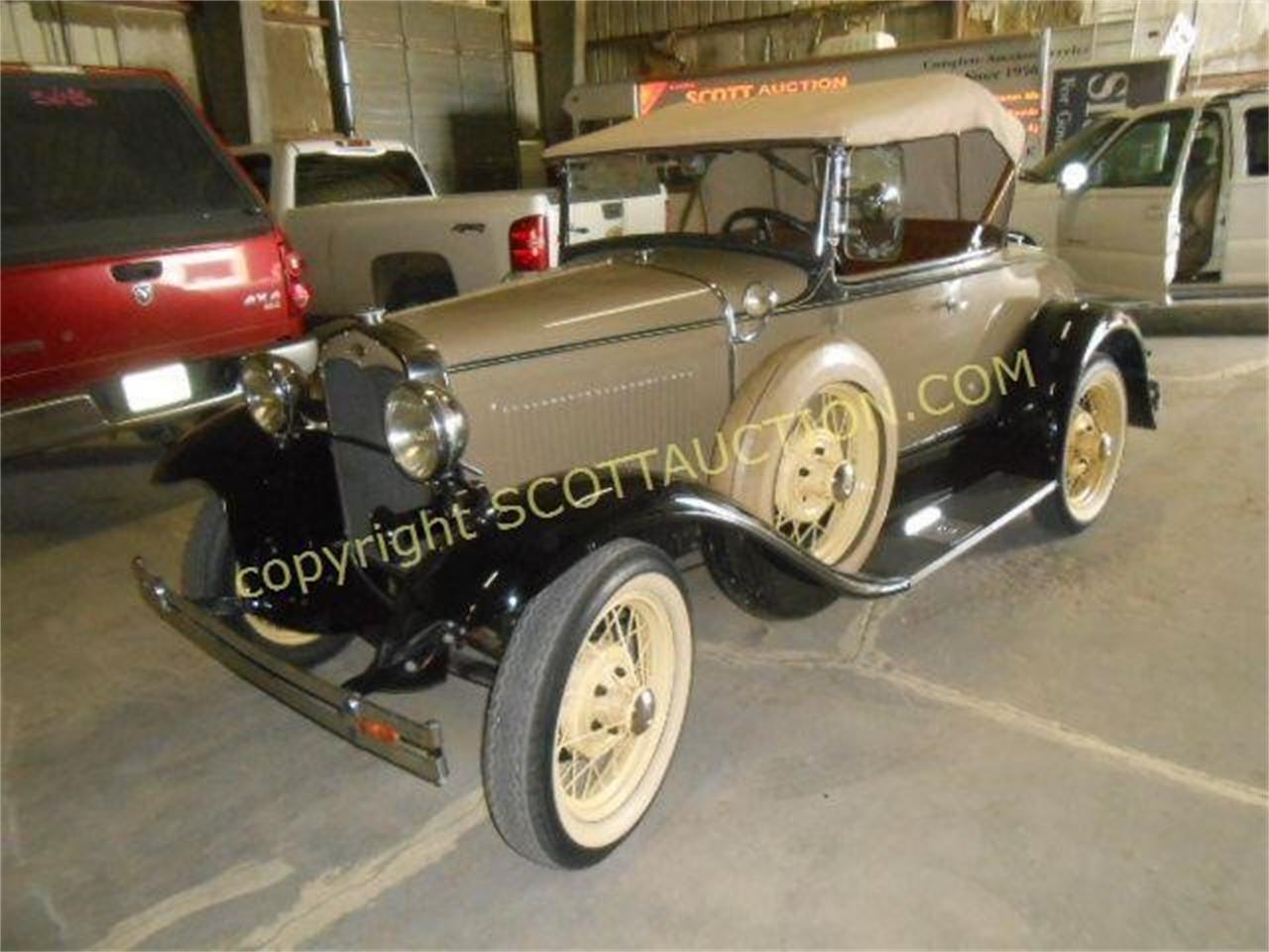 Large Picture of 1931 Ford Model A located in Garden City Kansas Auction Vehicle - R1H4