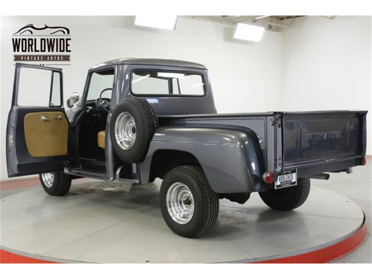 Large Picture of Classic '58 International Pickup located in Denver  Colorado - $19,900.00 Offered by Worldwide Vintage Autos - R1LO