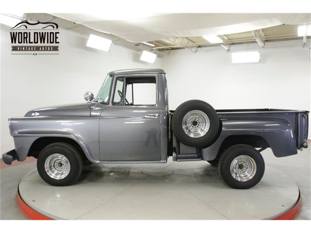 Large Picture of '58 International Pickup located in Denver  Colorado Offered by Worldwide Vintage Autos - R1LO