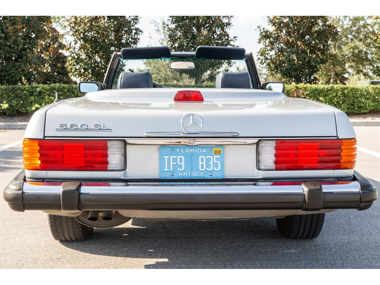 Large Picture of 1987 Mercedes-Benz 560SL located in Florida Auction Vehicle - R1P5