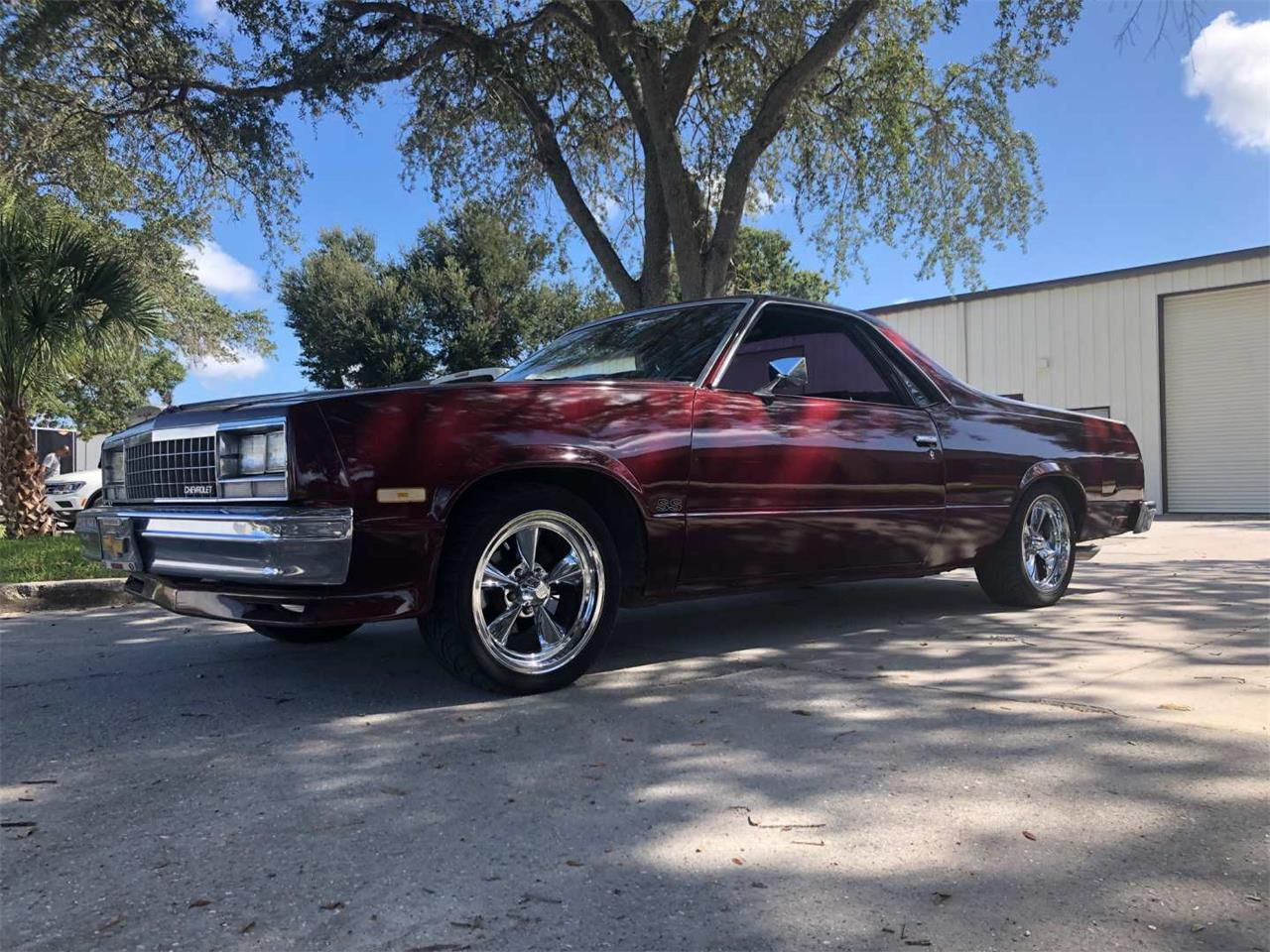 Large Picture of '85 El Camino - R1PY