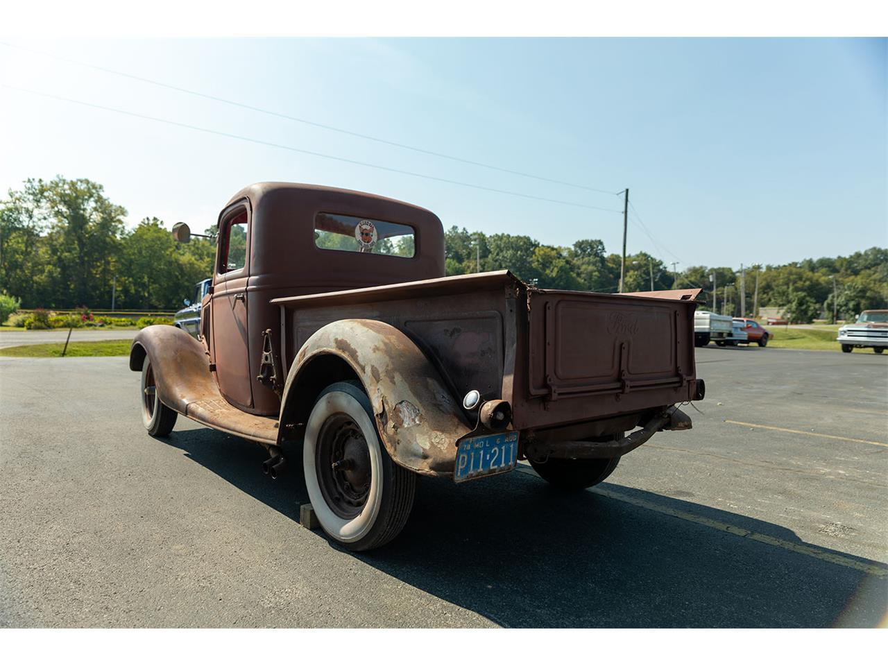 Large Picture of '35 Ford Pickup located in Dongola Illinois - $7,500.00 Offered by Curt's Classics LLC - R1SC