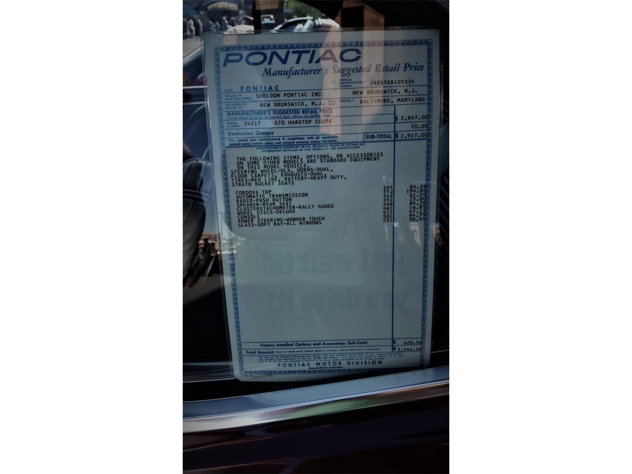 Large Picture of Classic '66 Pontiac GTO located in Las Vegas Nevada - $40,000.00 - R1SH