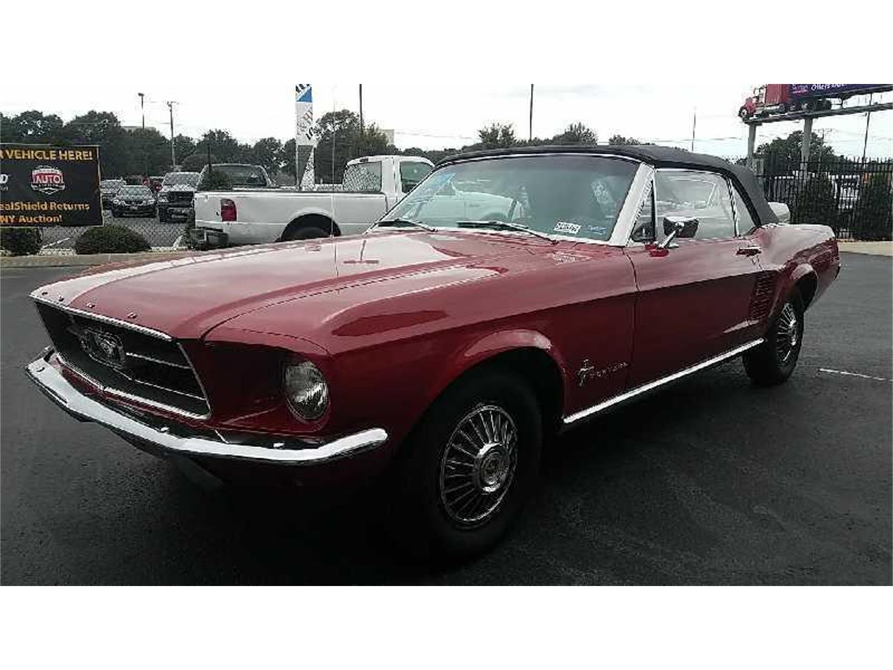 Large Picture of 1967 Mustang Auction Vehicle Offered by Motley's Richmond Auto Auction - R1U4