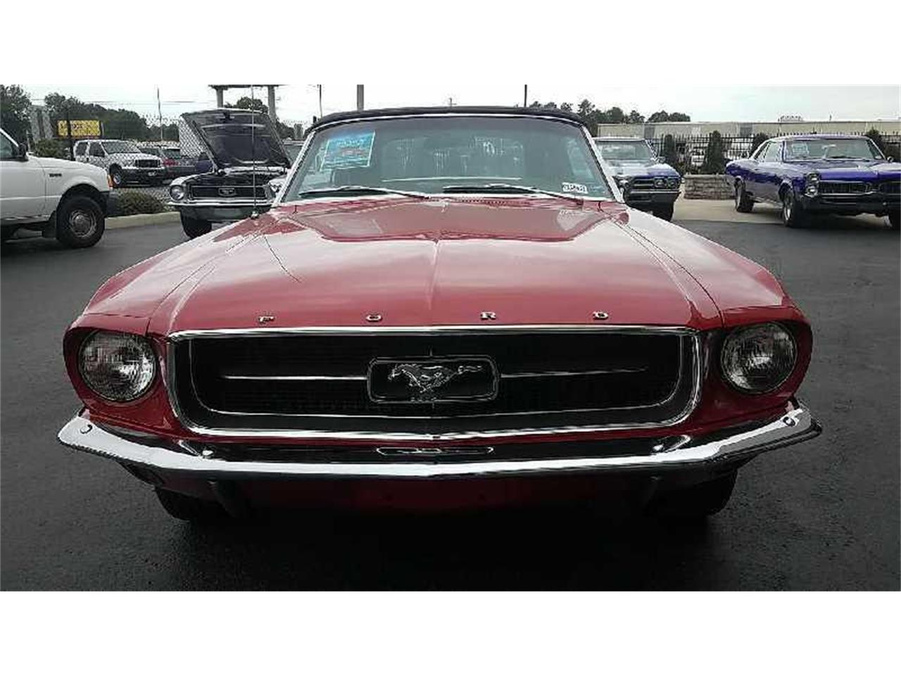 Large Picture of '67 Ford Mustang Auction Vehicle Offered by Motley's Richmond Auto Auction - R1U4