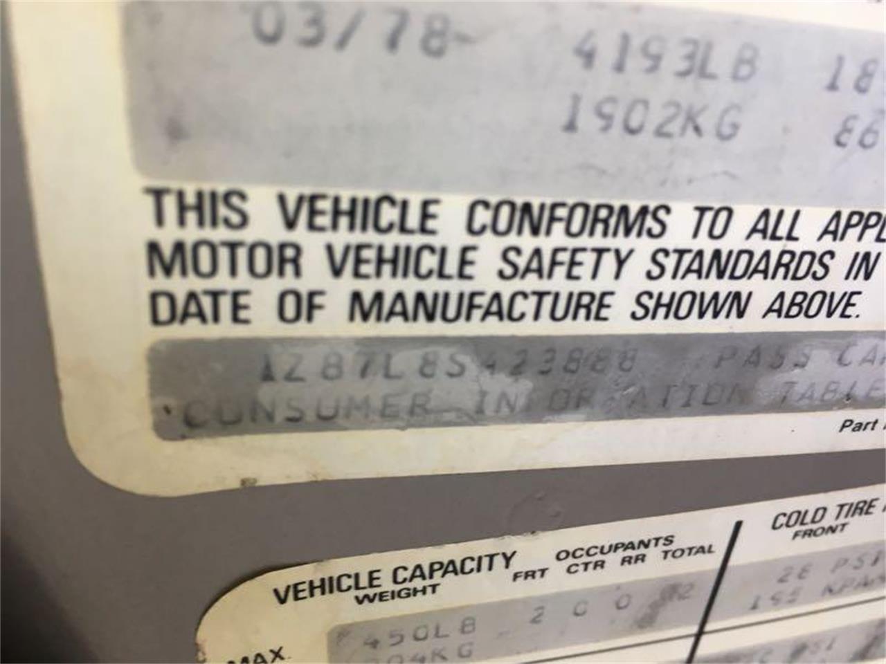 Large Picture of '78 Corvette - R1UE