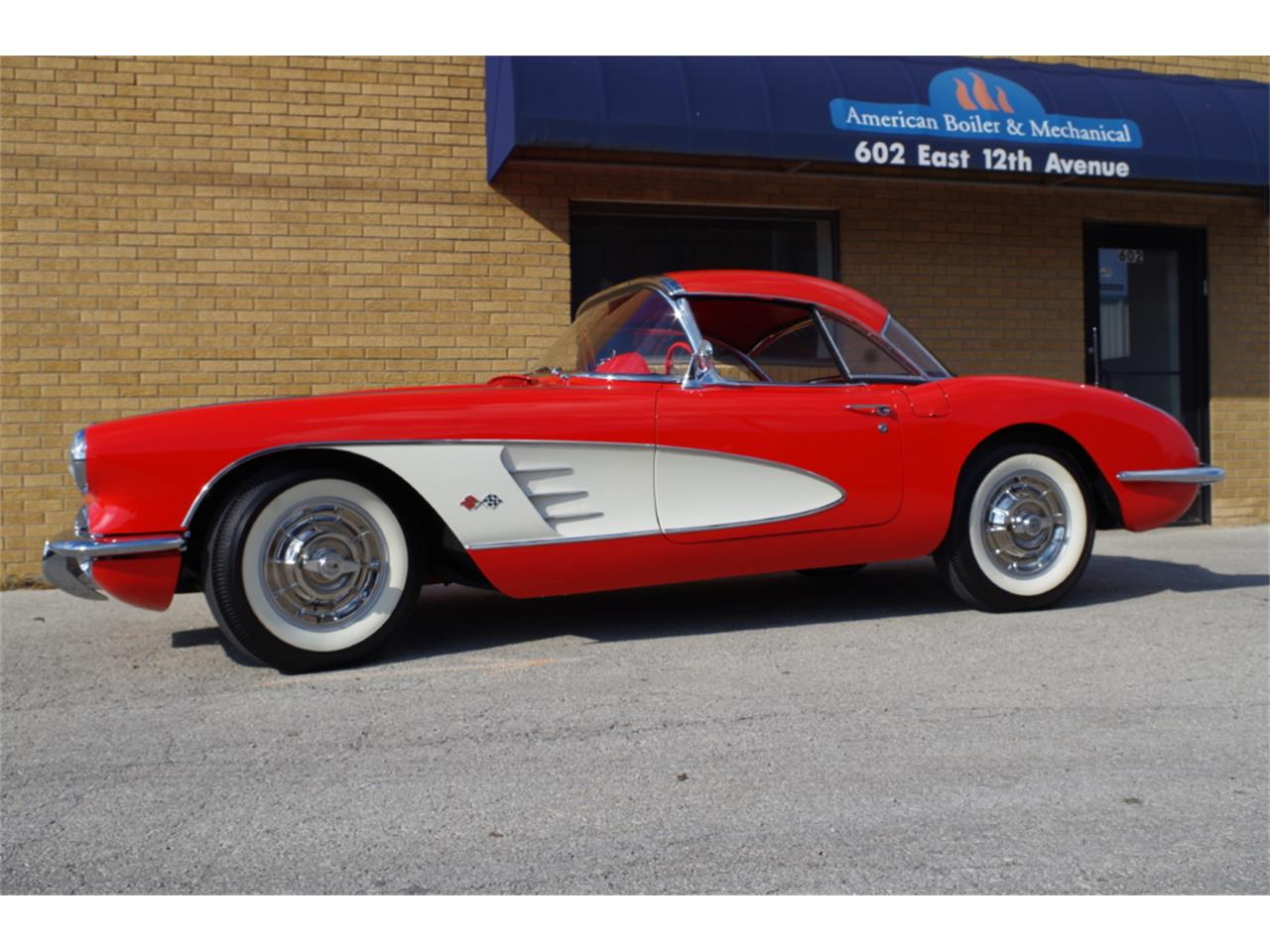 Large Picture of 1958 Corvette located in N. Kansas City Missouri Offered by Vintage Vettes, LLC - R23F