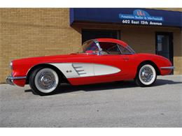 Picture of Classic 1958 Chevrolet Corvette located in N. Kansas City Missouri Offered by Vintage Vettes, LLC - R23F